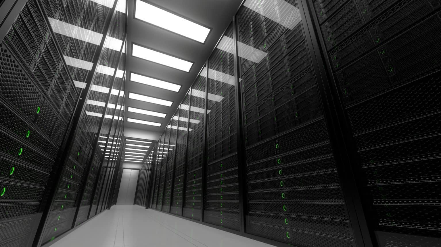 big data server room