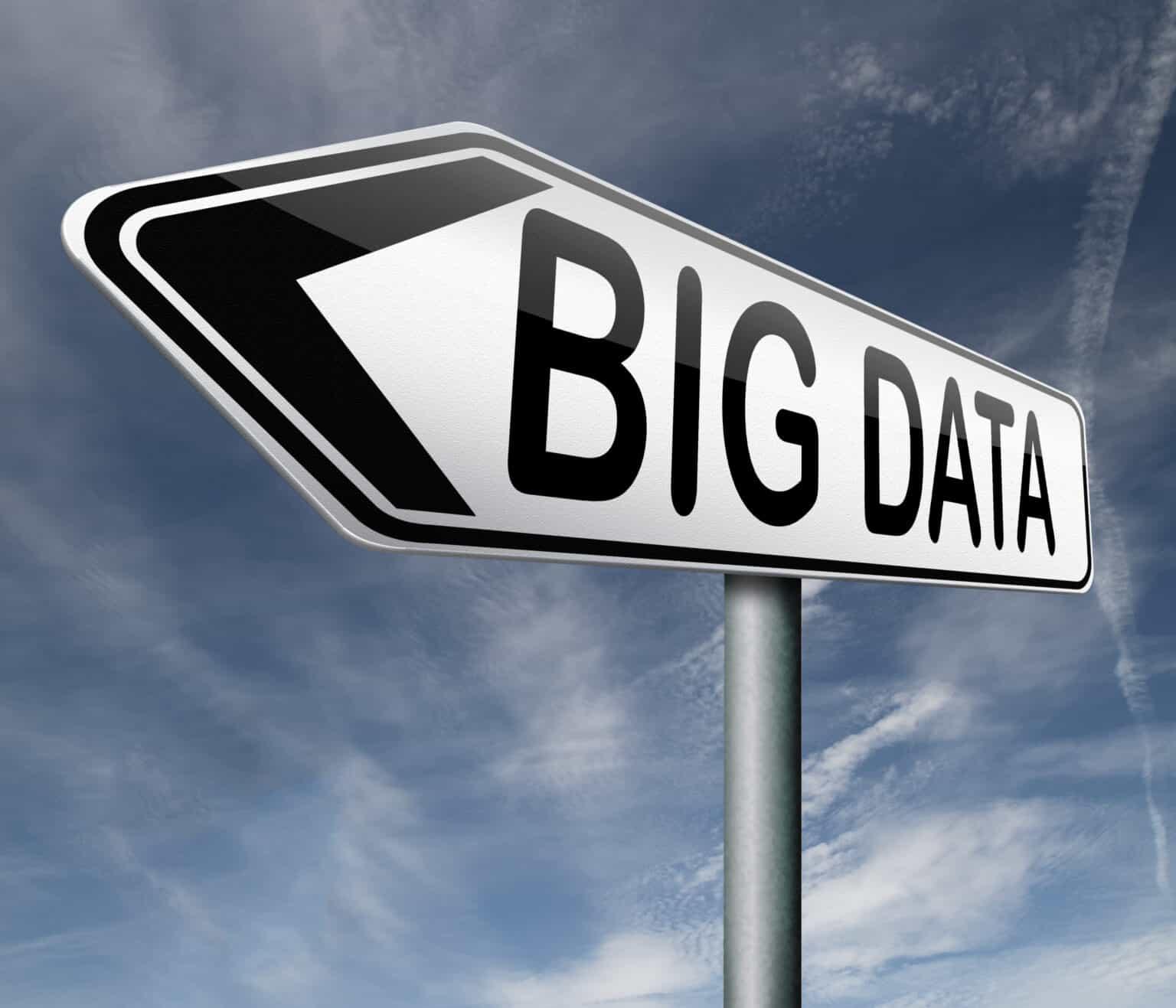 big data exabyte terrabyte or gigabyte in very large data set cloud computing storage