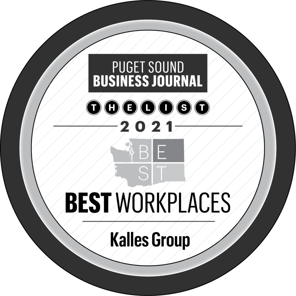 Puget Sound Business Journal - Best Workplaces 2021