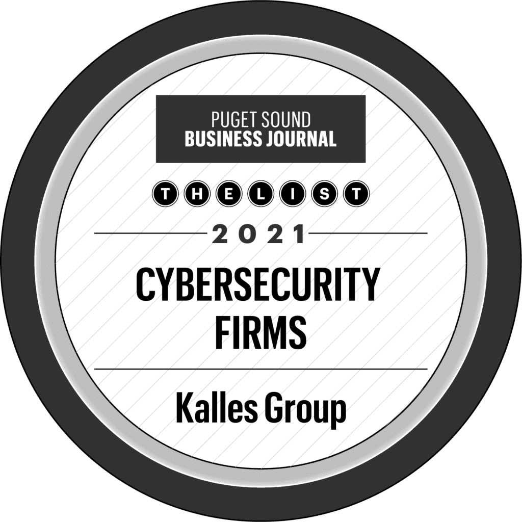 Puget Sound Business Journal - Cybersecurity Firms 2021